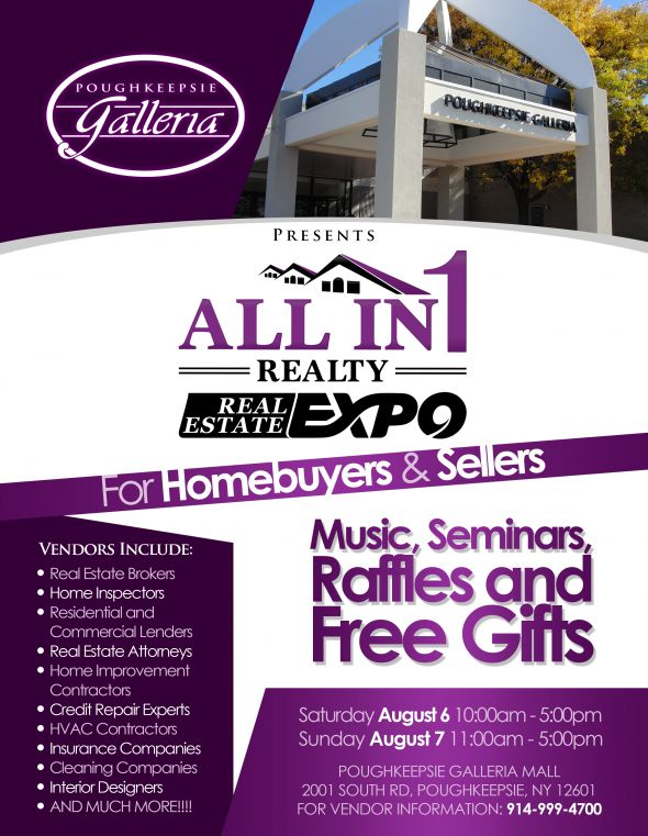 All in 1 realty expo sign